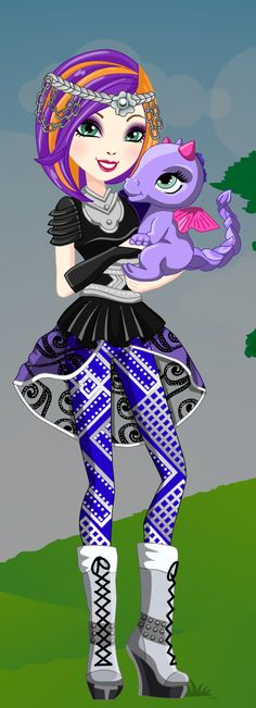 Ever After High Dragon Games Poppy OHair Dress Up Game : http://www.starsue.net/game/Dragon-Games-Poppy-OHair.html Have Fun! ♥♥♥