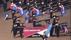 Asheville High School Band perform in Inaugural Parade