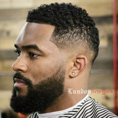 After many reader requests, here's a post dedicated to black hair. There are so many options for these fresh styles from close cropped waves to natural twists to geometric flat tops with retro flair.    Most of