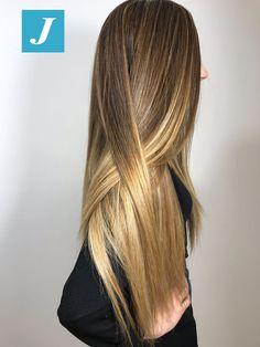 We ♥️ hair #cdj #degradejoelle #tagliopuntearia #degradé #igers #musthave #hair #hairstyle #haircolour #longhair #ootd #hairfashion #madeinitaly #wellastudionyc