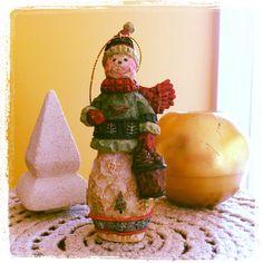 Fave snowman ornament @ lovedecorateletters