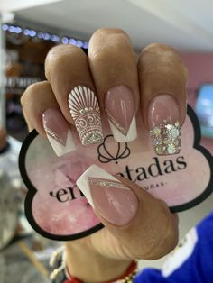 Perfect Nails, Gorgeous Nails, Pretty Nails, Posh Nails, My Nails, Nail Art Arabesque, Nail Desighns, Queen Nails, Summer Toe Nails