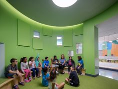 Gallery of Woodland Elementary School / HMFH Architects - 4