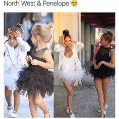 North West & Penelope Halloween Costume