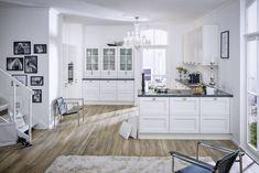 Gorenje - Lucia Ikea Kitchen Reviews, Kitchen Island, Kitchen Cabinets, Little White Dresses, Apartment Kitchen, Holiday Dresses, Rustic Kitchen, Decoration, Facade