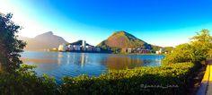 Recorrido por el Lago Rodrigo de Freitas, Rio de Janeiro, Brasil.....!!!