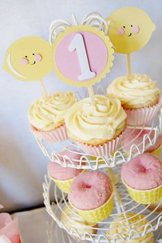 Pink Lemonade Party by http://pinwheellane.etsy.com