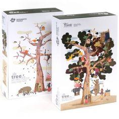 londji puzzel mijn boom (50st) PZ380 | ilovespeelgoed.nl