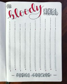 18 Genius bullet journal trackers you need to try this month Keep track of your period with this bullet journal period tracker layout. Read more to find other layout ideas for your bullet journal! 18 Genius bullet journal trackers you Bullet Journal Tracker, Bullet Journal Inspo, Bullet Journal Spreads, Minimalist Bullet Journal, Bullet Journal Aesthetic, Bullet Journal Notebook, Bullet Journal Ideas Pages, Bullet Journals, Books To Read Bullet Journal