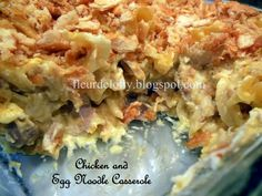 Fleur de Lolly: Chicken and Egg Noodle Casserole