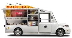 Scion xB Taco & Paint Truck / Kenton Parker #camion #truck #cibo #mexico