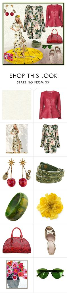 """""""Find your Harmony"""" by elza6 ❤ liked on Polyvore featuring Élitis, Carolina Herrera, Gucci, Frye and Chicnova Fashion"""