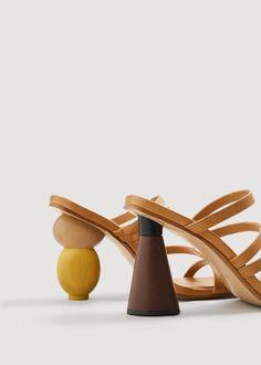 9ef713630d3d Clonados y pillados  los tacones geométricos de Jacquemus inspiran a Mango