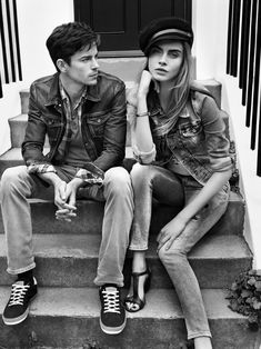 Spring Summer 2013 Campaign with Cara Delevingne