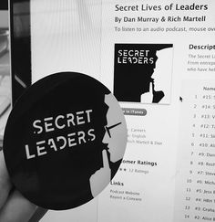 awesome podcasts from these guys @secretleaders1 #poscast #secretleaders #stkrs #startupstickers