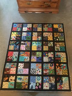 58 Ideas baby clothes quilt ideas children for 2019 Baby Boy Quilt Patterns, Scrappy Quilt Patterns, Baby Boy Quilts, Scrappy Quilts, Easy Quilts, Cute Quilts, Small Quilts, I Spy Quilt, Baby Clothes Quilt