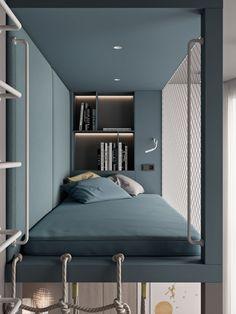 Modern Kids Bedroom Design Ideas On A Budget 18 Modern Kids Bedroom, Kids Bedroom Designs, Kids Room Design, Modern Bedrooms, Design Bedroom, Bedroom Kids, Young Boys Bedroom Ideas, Boy Bedrooms, Shared Bedrooms