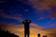 Long exposure in France, north coast, Cap Blanc Nez Starry sky fmaciejewski.tumblr.com Frédéric Maciejewski