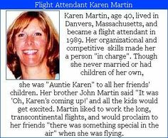 Karen Martin #WeRemember We Will Never Forget, Don't Forget, United Airlines Flight 175, Karen Martin, Wtc 9 11, Become A Flight Attendant, My First Job, Never Married, Airline Flights