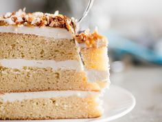 Made with virgin coconut oil, coconut milk, and coconut flour, this coconut layer cake has an all-natural flavor that'll put imitations to shame.