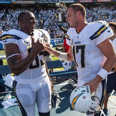 The dynamic duo strikes again! Rivers & Gates. Week #2 Chargers vs Seahawks