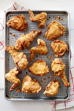 As good as a fresh-from-the-fryer bird can be, there's nothing better than cold, day-after fried chicken enjoyed while picnicking!  Recipe: Classic Buttermilk Fried Chicken   - CountryLiving.com