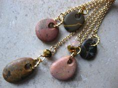 Beach Stone jewelry sea jewelry necklace