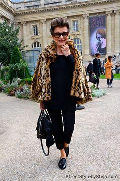 Constanza Pascolato, Paris Fashion Week