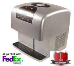 Whynter ICE 100S SNO 3 In 1 Portable Ice Maker Ice Crusher And Water  Dispenser Platinum Http://shorl.com/lesterobrynoba