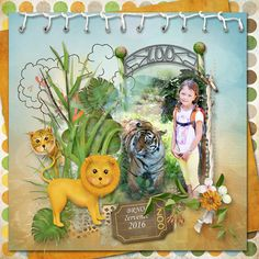 """""""ZOO Day"""" by Sarahh Graphics http://www.pickleberrypop.com/shop/product.php?productid=45463&page=1"""