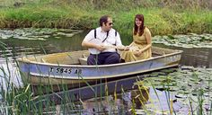 I want a boat engagement photoshoot, but in a swamp, under spanish moss or weeping willows...we may need to fly out to New Orleans! LOL