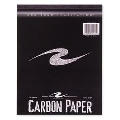 """roaring spring paper products carbon paper tablet, 1-1/2""""x11"""", 10/pk,"""