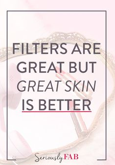 We're all guilty of using a little filter to make our selfies look like perfection. But with great skin, that's something you will no longer have to do! Here's the one ingredient to add to your skincare routine, to protect your skin, improve wound healing, treating acne breakouts, and lock in moisture.  #skincaretips #healthyskin #skincareproducts #beautytips #zincsunscreen #antiaging #skincareingredients