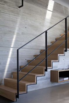 Beautiful attention to detail on these stairs  via Contemporist yd_151114_10