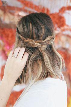Easy hair: acconciatura hippie