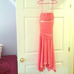 Selling this Pink Semi-Formal Dress (prom/homecoming in my Poshmark closet! My username is: malia229. #shopmycloset #poshmark #fashion #shopping #style #forsale #city triangle #Dresses