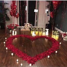 🦹🏾♂🦹♀Romantic Surprise for him? 🦹🏾♂🦹♀Romantic Surprise for him? Romantic Surprises For Him, Romantic Room Surprise, Romantic Proposal, Romantic Night, Romantic Dinners, Romantic Birthday, Surprise Wedding, Romantic Ideas, Romantic Quotes