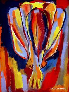 "Saatchi Online Artist Helena Wierzbicki; Painting, """"Bottomless Memories"""" #art"