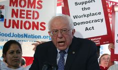Bernie Sanders launches Workplace Democracy Act in ongoing fight for our right to Unions