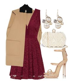 Untitled #1286 by anarita11 on Polyvore featuring Free People, Balenciaga, Giuseppe Zanotti and GUESS