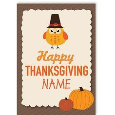 Thanksgiving - QuickClickCards - Your design, your message Personalized Greeting Cards, Your Message, Happy Thanksgiving, Your Design, Special Occasion, Messages, Happy Thanksgiving Day, Text Posts