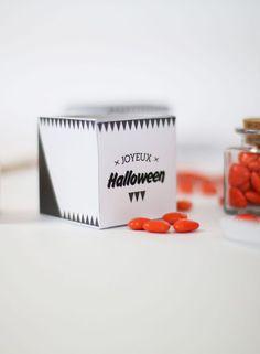 Top, des boîtes de bonbons stylées pour Halloween !