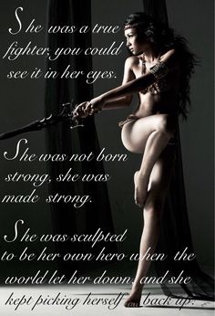 We all have the Warrior within us....£