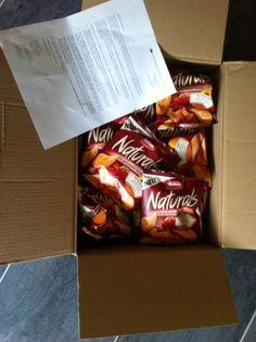 Ich darf für Empfehlerin die neuen Naturals mit getrockneter Tomate testen:-))) das Paket kam heute an. Cooool