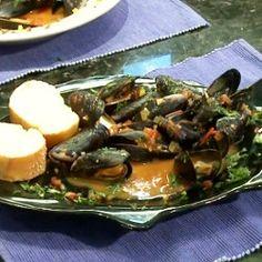 Caribbean Mussels recipe
