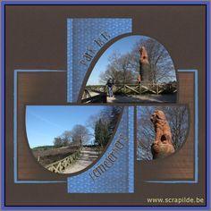 azza-voorbeelden - kit souvenir Album Photo, Scrapbooks, Scrapbook Pages, Kit, Display, Templates, Frame, Journal, Inspiration