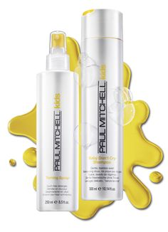 Make bath time fun time! Gently cleanse and detangle even the most sensitive strands with the mild, soothing formulas of Paul Mitchell® Kids.