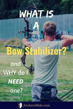 When it comes to archery the stability of your bow is vital especially as you take a shot. A stable bow will increase your chances… Bow Hunting Tips, Hunting Arrows, Deer Hunting Blinds, Archery Arrows, Archery Targets, Archery Poses, Field Archery, Archery Gear, Archery Hunting