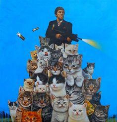 The Cat Art Show: 60 artistes exposent leur vision du chat