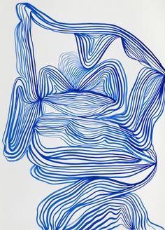 tanya ling line paintings